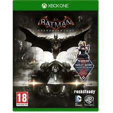 Batman arkham knight + harley quinn dlc pour xbox one neuf & scellé uk pal