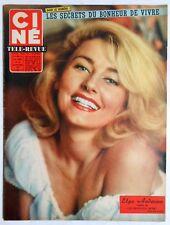 ►CINE REVUE 38/1961-ELGA ANDERSEN-ANITA EKBERG-STEPHEN BOYD-MARTINE CAROL-GABIN