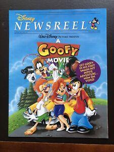 Disney Newsreel Magazine- Sept 8 1995- A Goofy Movie