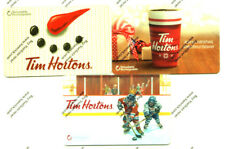 TIM HORTON'S Gift Card Holiday Winter X3 RECHARGEABLE FD49248-FD54105-FD-59745