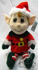 Santas Secret  Elf Boy Fiesta Plush Stuffed Doll Christmas Elves Cute Toy BNWT M