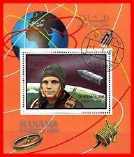 Manama 1969 Yu.gagarin Im Weltraum S