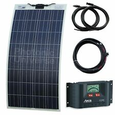 130W Flexible Solar Charging Kit for Motorhome, Caravan, Boat, Yacht or Marine