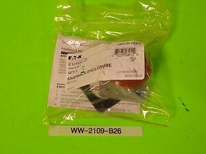 New Eaton Cam-Lok Receptacle Cover E1016SC-31 SnapBack Enclosure