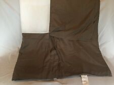 Bed Skirt California King Size Dust Ruffle Brown - Never used!