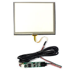 4wire Resistive touch panel for 5.6inch TFT LCD display with USB controller card
