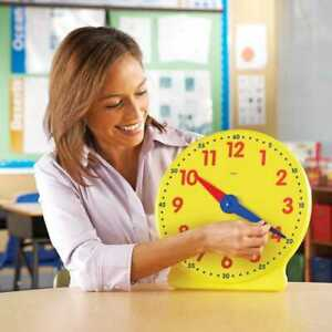 """New 13"""" Big Time Demonstration / Learning Clock By Learning Resources"""