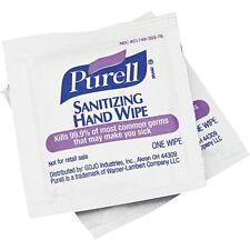 PURELL 9022 Hand Sanitizing Wipes, White, PK 100