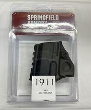 Rh 1911 Black Polymer Belt Slide Amp Rail Holster Springfield Armory New Factory