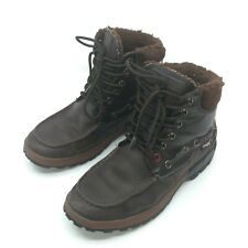 Pajar Canada Waterproof Boots Mens 8.5 Trooper Brown Leather Winter Snow Lace