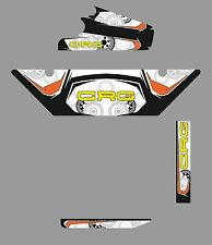 CRG STYLE DD2 RADIATOR STICKER KIT - ROTAX - KARTING