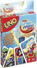 UNO Jeu de cartes DC super hero girls mattel FDJ16