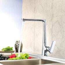 Brass Bathroom Kitchen Basin Sink Faucet Single Handle 1 Hole Mixer Tap