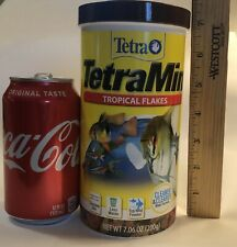 EXTRA LARGE!!! FISH FOOD FLAKES 7.06 OZ !! VERY NEW!! TETRA TetraMin TROPICAL