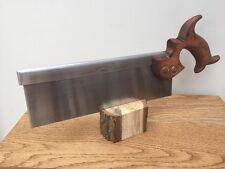"Drabble & Sanderson 10"" open handle dovetail saw"