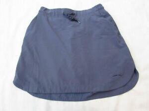 SLAZENGER XS womens slate blue golf skirt skort stretchy wicking