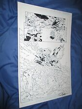 GREEN LANTERN #32 Original Art Page #20 ~Billy Tan/Rob Hunter JLA/MOVIE Comic Art