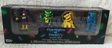 Five Nights at Freddy's - Black Light #1 - 4 Figure Pack - New & Sealed