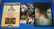 The X-Files Collectible Lot with Phone card Comic & Player Notecard