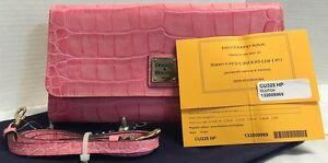 NWOT*Dooney & Bourke Moc Croc Leather*Handbag'Clutch'Shoulder Bag/Cross Body