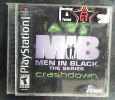 Men in Black - The Series: Crashdown (Sony PlayStation 1, Ps1 2001)