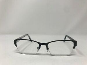 DKNY Halfrimless Eyeglasses DY5651 1004 53-17-140 Black/Grey Marble