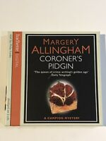 MARGERY ALLINGHAM CORONERS PIDGIN 3 DISC AUDIO BOOK CD READ BY PHILIP FRANKS
