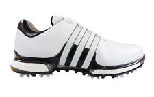 NEW 2018 Adidas Tour 360 Boost 2.0 Golf Shoes Q44985 White / Black  size 9.5 med