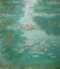 Nympheas Giclee Print Claude Monet Canvas Print Art Decoration Home Decor 8x10
