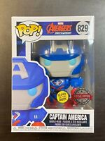 Funko POP Avengers Mech Strike Captain America Glow Special Edition Exclusive