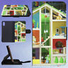 DECOR DECORATION DISPLAY DOLL HOUSE FLIP WALLET CASE FOR APPLE IPHONE PHONES