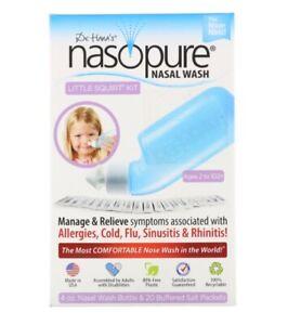 Nasopure, Nasal Wash System, Little Squirt Kit, 1 Kit