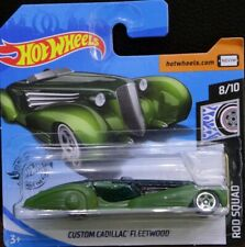 Hot Wheels Custom Cadillac Fleetwood  Rod Squad 8/10 2020 verde