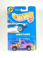 Hot Wheels Blue Card #127 POWER PLOWER Pickup Truck NEW with Protector Pak