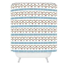 Deny Designs Jennifer Denty Anchor Small Shower Curtain, 69 by 72-Inch
