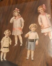 Early 1900 Paper Dolls