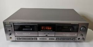 JVC TD-W505 - Pitch Control, Dolby B/C, HxPro Dual Cassette Deck - Vintage HiFi