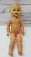 """Seated Position Vintage Rubber Baby Boy Doll AE 1401 14"""""""
