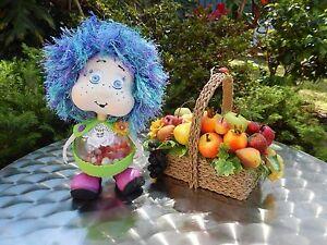 Handmade baby doll with hidden surprise