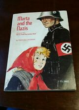 Marta and the Nazis, Frances Cavanah.  Rare! 1st printing 1974