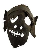 Antico Maschera Di Sciamano Pelle -rituale Tantric-Himalaya-Tibet Nepal- 6803