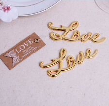 Bottle Opener Love Shape Alloy Tool Wedding Party Gift Souvenirs