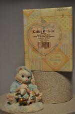 Calico Kittens: Ewe Warm My Heart - 628182 - Kitten with Stocking Cap