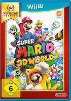 Super Mario 3D World (Nintendo Wii U, 2016, DVD-Box) NEU OVP