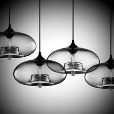 DIY Glass Chandeliers Ceiling Lamp Crystal Clear Glass Cover Pendant Lighting