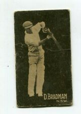Don Bradman Hoadley's 5 Star Bubble Gum Trading Card