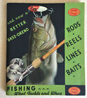 MINT Condition Vintage 1934 South Bend Quality Tackle Catalog 92 pages