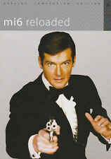 JAMES BOND MI6 RELOADED MAGAZINE UK IMPORT ISSUE 2012 ROGER MOORE INTERVIEW