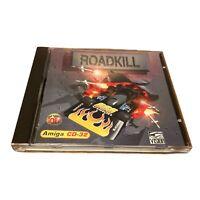 Roadkill Amiga CD-32 Gamer Gold Racing Arcade Acid Software Retro Untested