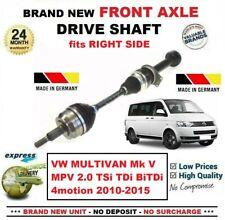Para VW Multivan V MPV 2.0 TSI Tdi Bitdi 4motion 2010-2015 Delantero Derecho